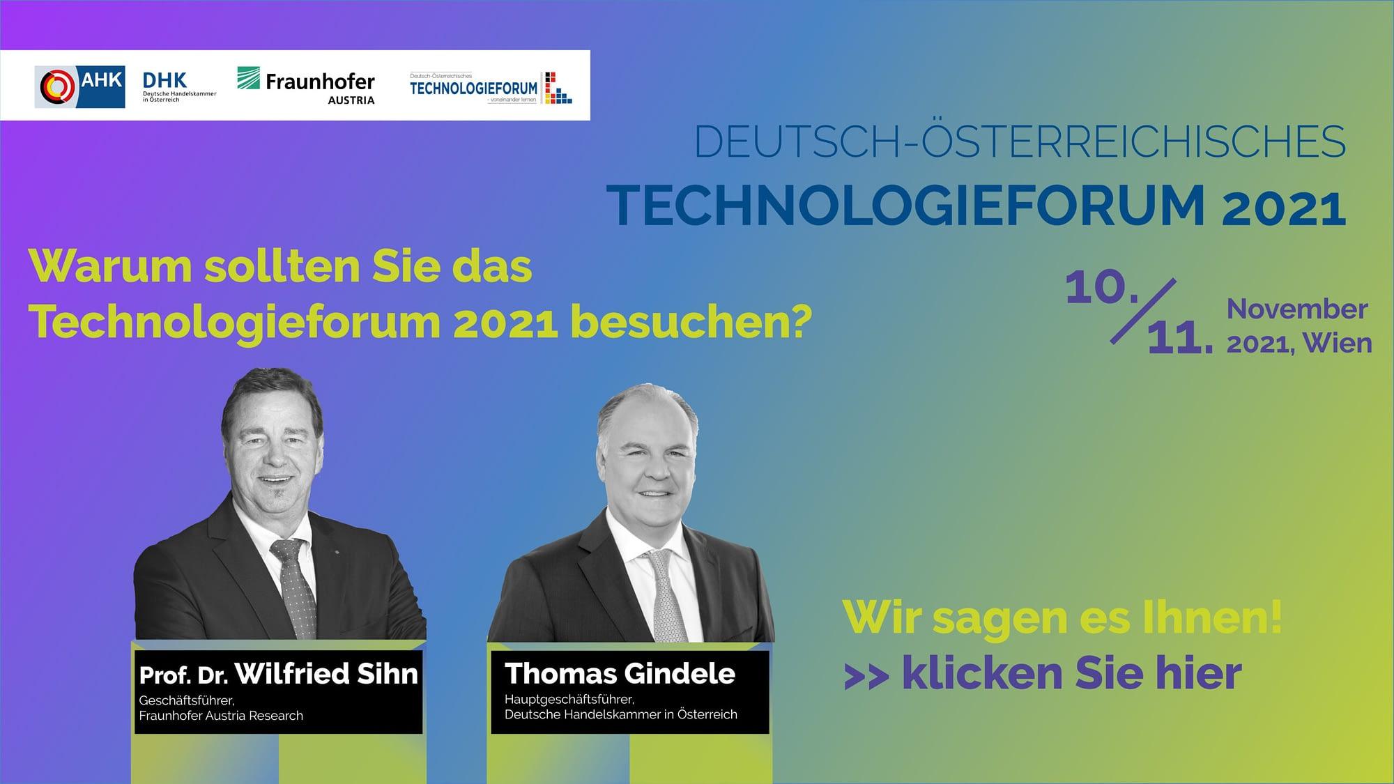 Technologieforum 2019